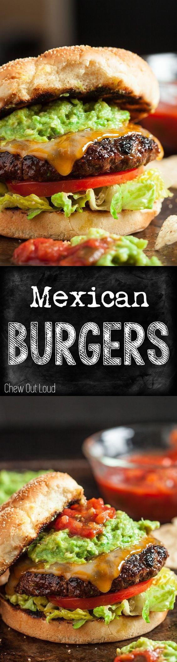 Mexican Cheeseburgers