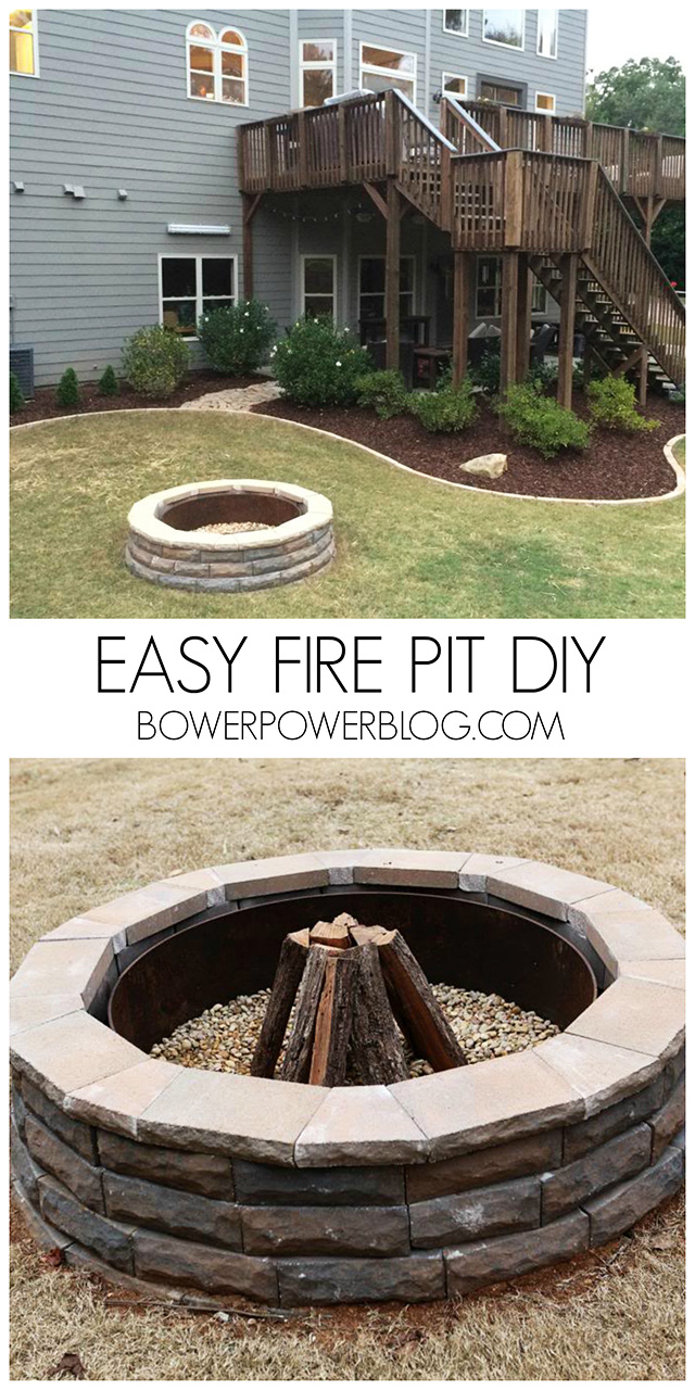 27 surprisingly easy diy bbq fire pits anyone can make. Black Bedroom Furniture Sets. Home Design Ideas