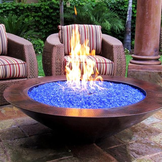 Fire Glass Pit