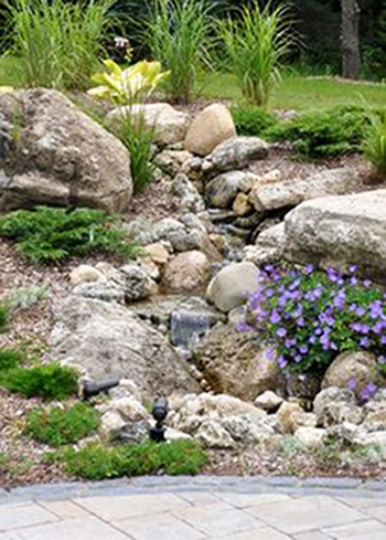 dry river bed landscaping photos  homeminimalis, Landscaping/