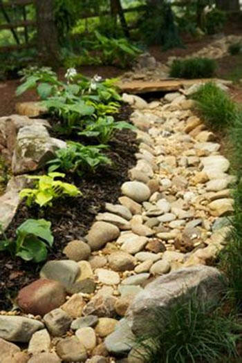 50 super easy dry creek landscaping ideas you can make for Pikes nursery