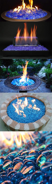 fireglass fire pit