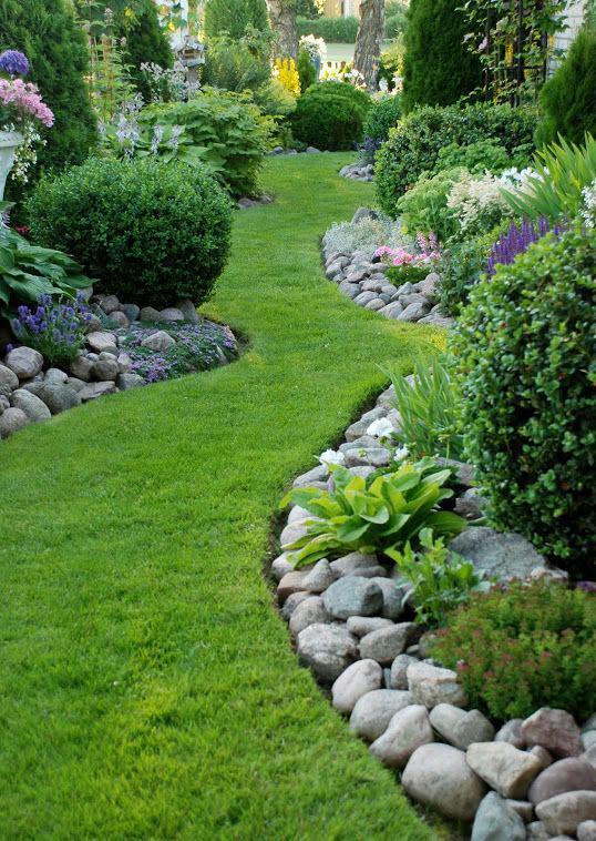 grass walkways