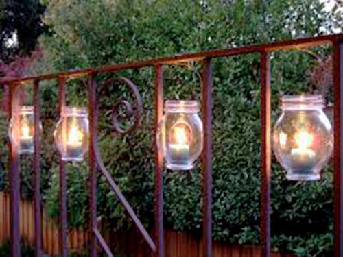 Hanging Jar Lantern