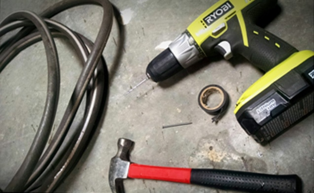 Tools for DIY Soker Hose