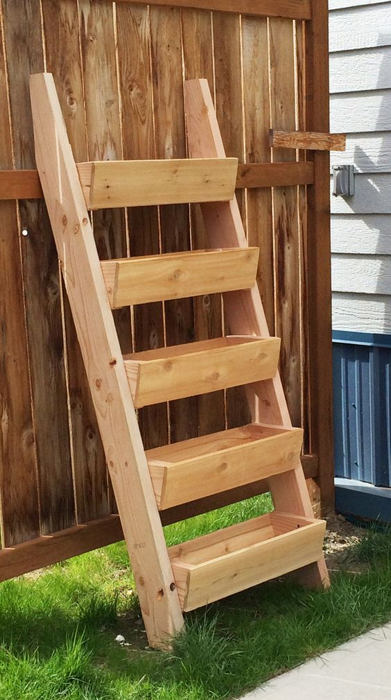 Ladder Garden Planter