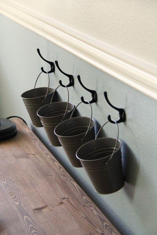 Buckets on Hooks