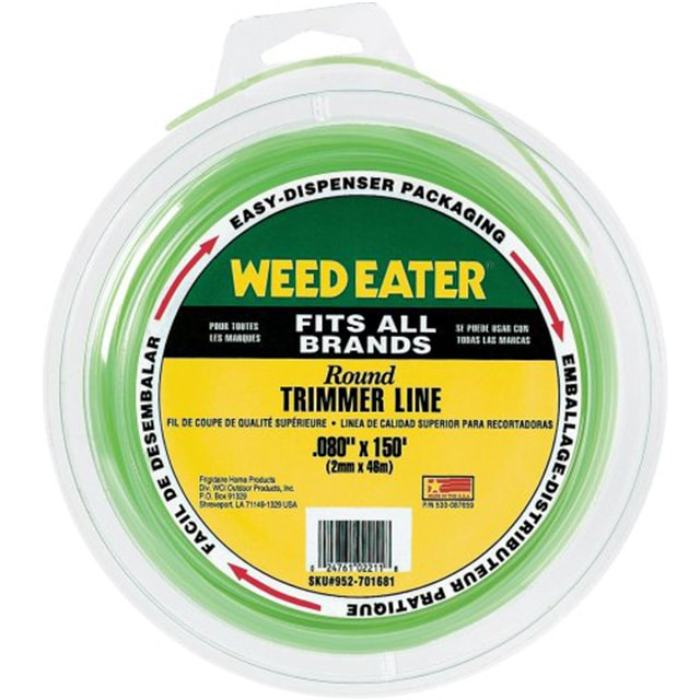 Weed Eater Round String Trimmer Line