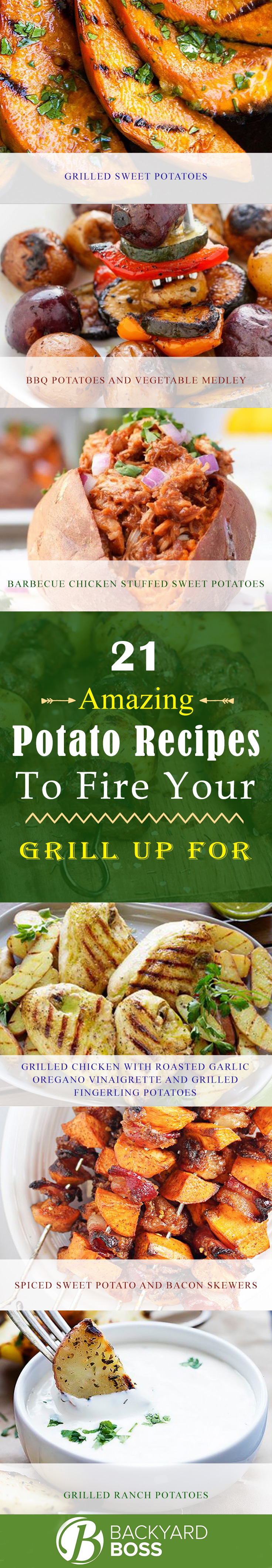 21 amazing potato recipes to fire your grill up for