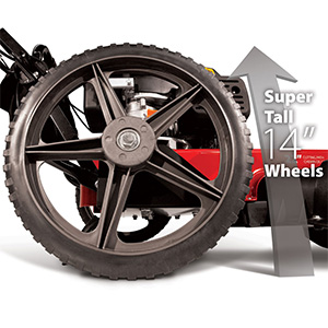 oversized balanced wheels