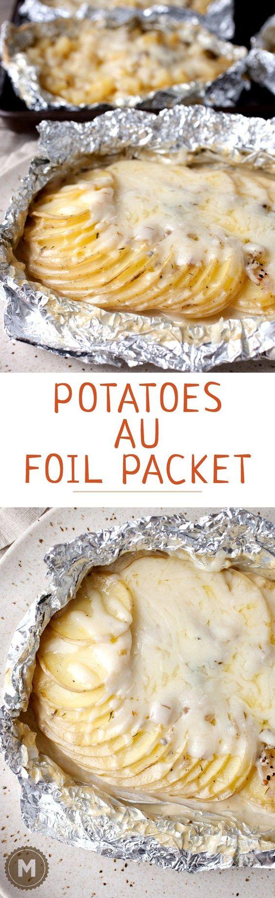 Potatoes Au Foil Packet