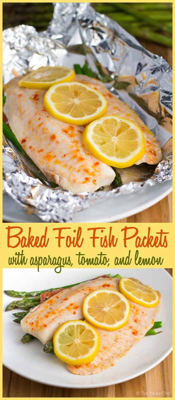 foil fish packets