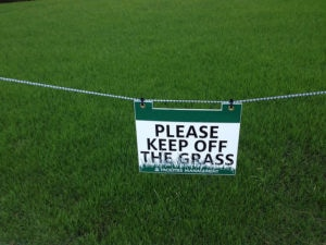 keep-off-the-grass
