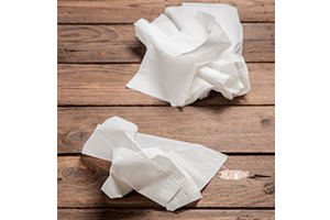 used-paper-towel