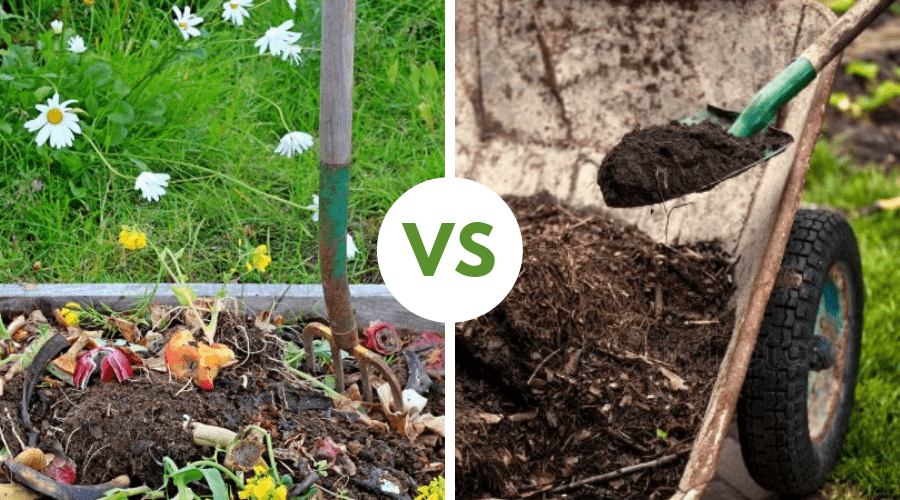 Featured Image - MULCH VS. COMPOST_ WHAT'S THE DIFFERENCE & WHICH IS THE BEST_