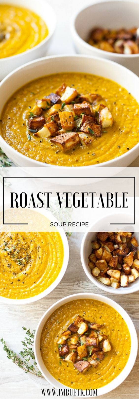 turmeric roast vegetable soup
