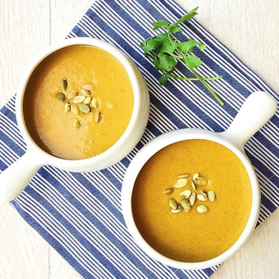 Coconut Curry Pumplin Soup