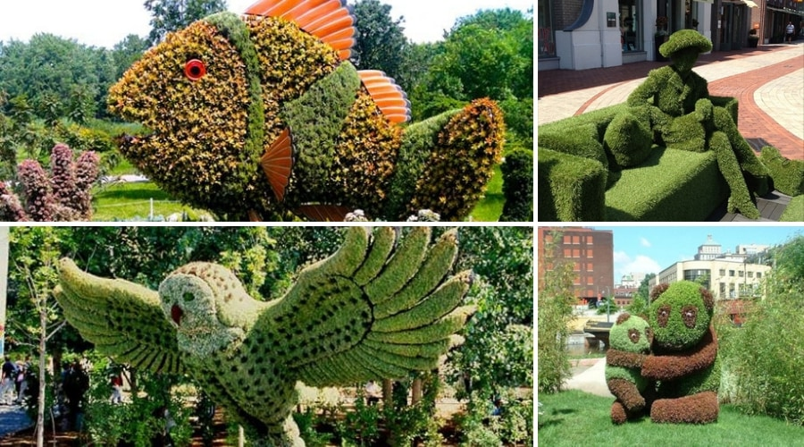 Featured Image - AWESOME BUSH & SHRUB SCULPTURES YOU MUST SEE TO BELIEVE