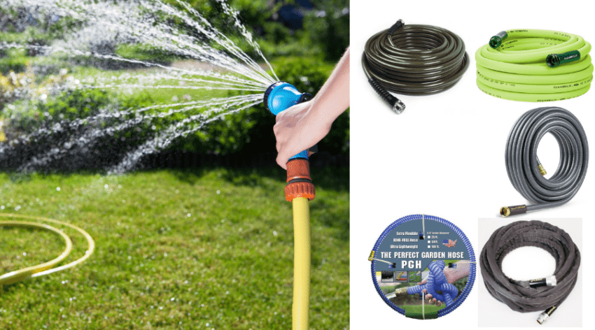 Featured Image - BEST LIGHTWEIGHT GARDEN HOSE PICKS FOR YOUR WATERING NEEDS