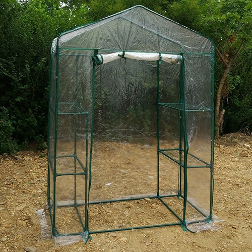 Empty cold frame