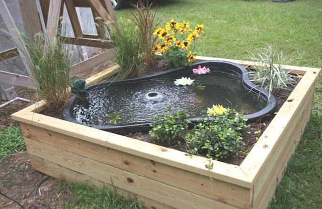 Build-a-Pond-Box - 73 Backyard And Garden Pond Designs And Ideas