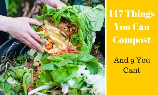 147 Things You Can Compost and 9 Things You Can't
