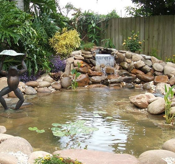 Waterfalls For Backyard 76 backyard and garden waterfall ideas