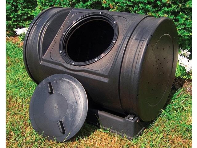 Good Ideas EZCJR-BLK 7-Cubic-Foot Compost Wizard Jr