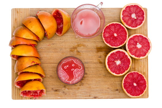 Grapefruit Rinds