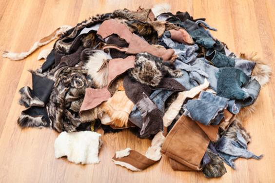 Leather Dust or Scraps from Leather Making
