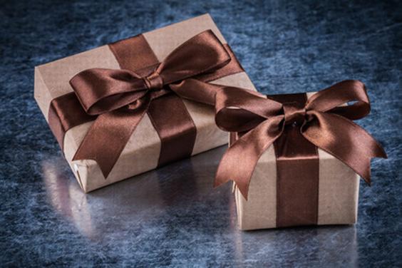 Metallic wrapping paper