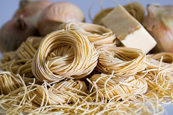 Old, Cooked or Uncooked Pasta