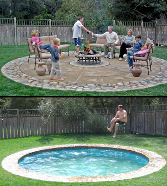 Swimming Pool Designs For Small Yards Small-u0026-Cozy