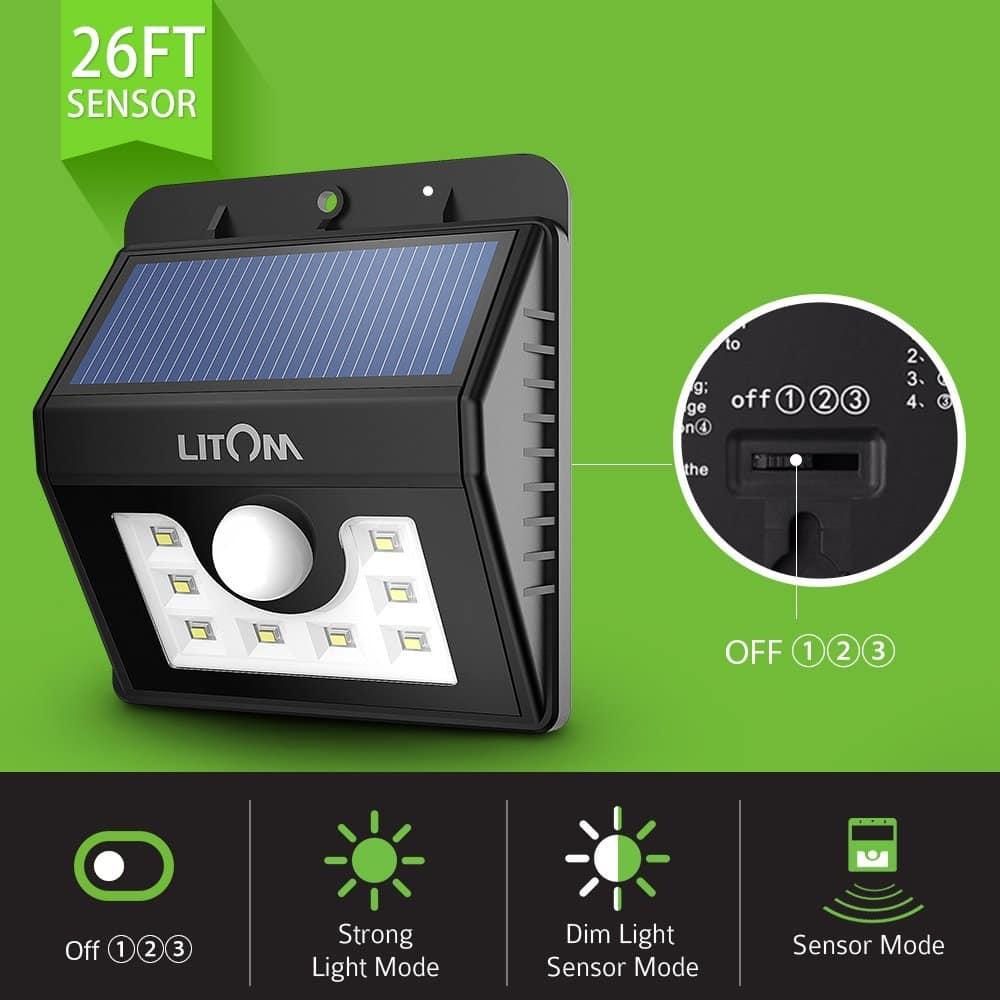 Solar Task Lights and Spotlights