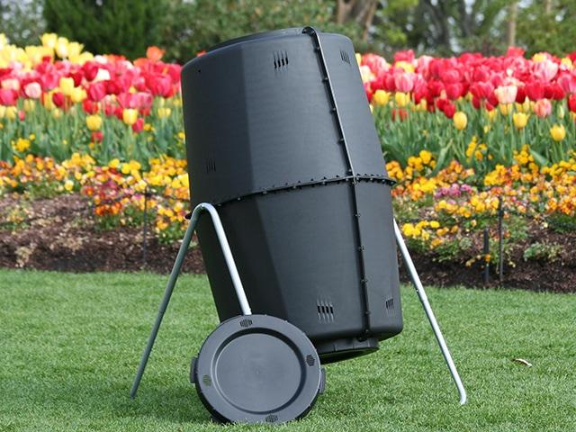 Spin Bin Composter 60 Gallon Compost Tumbler