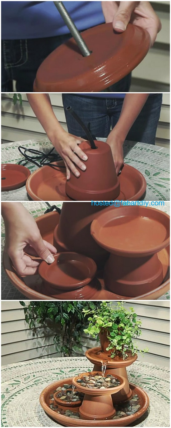 Tiered Terracotta