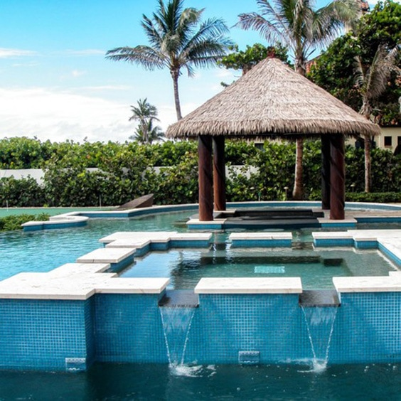 Cabo Style Small Minimalist Bathroom Makeover: 51 Awesome Backyard Pool Designs