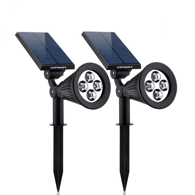 URPower Adjustable Solar Spotlight