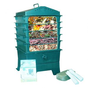 outdoor worm composter