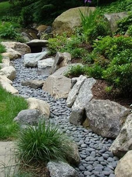 DIY Dry Creek Beds TheGardenGlove