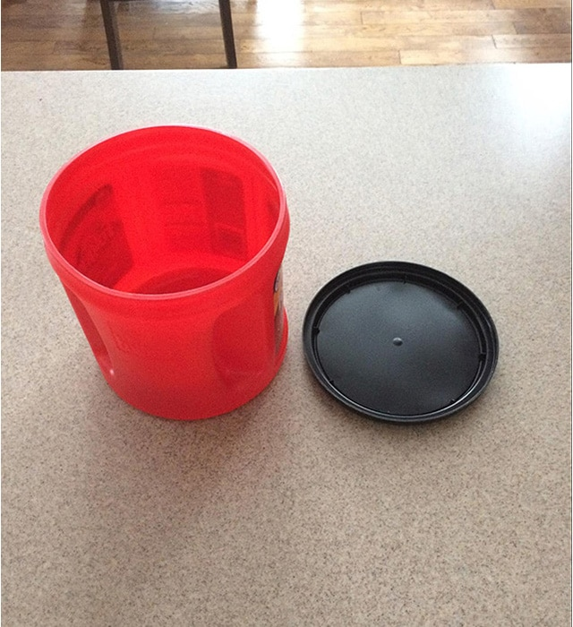 how to make a lid for a container