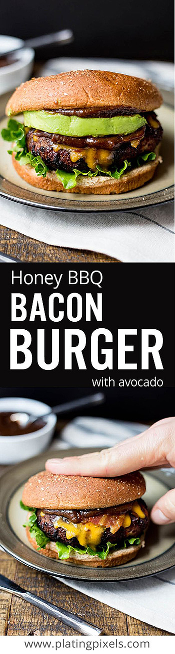 Ultimate Honey BBQ Bacon Burger
