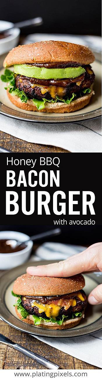 Ultimate Honey BBQ Bacon Burger
