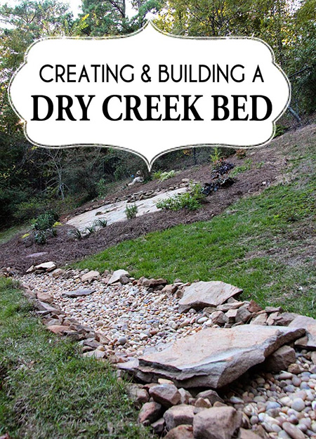 DIY Dry Creek Bed Paperdaisy