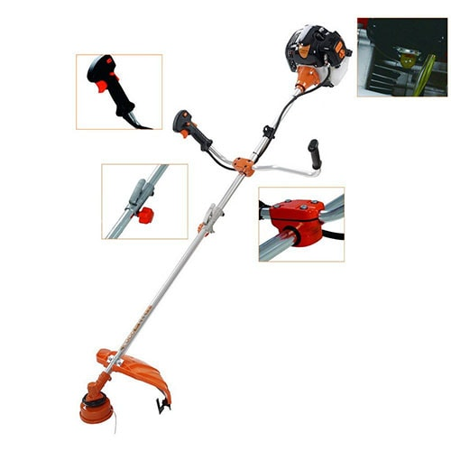 TIMBERPRO 52cc Heavy Duty Split Strimmer and Brush Cutter with 3 Blades