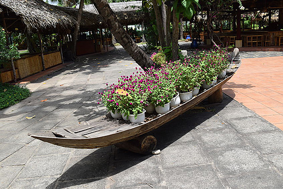 Recycled Rowboat