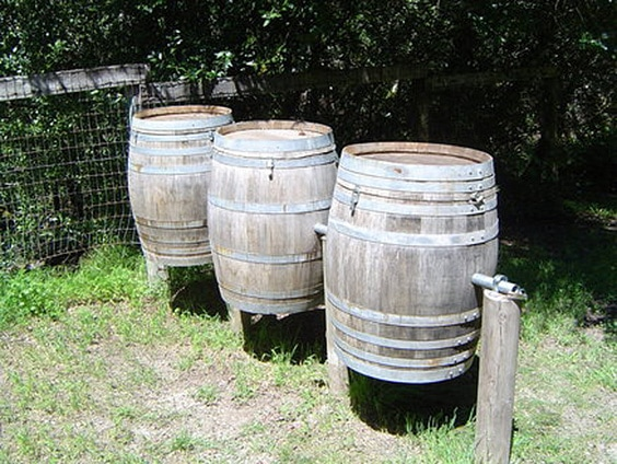 Wine Barrel Stations