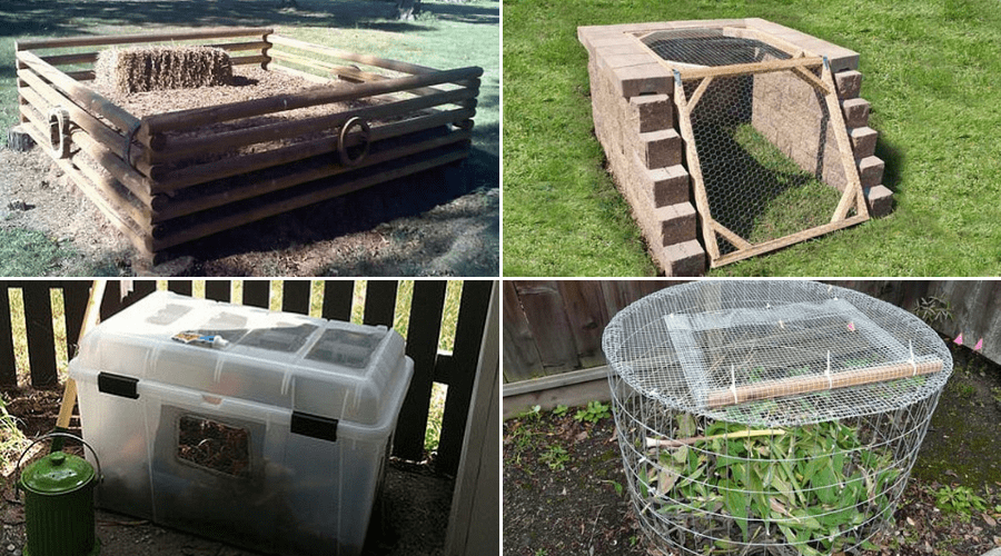 Diy Compost Tumbler Small
