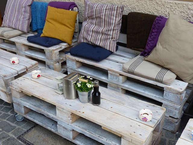 11 outdoor furniture set - Garden Furniture Using Pallets