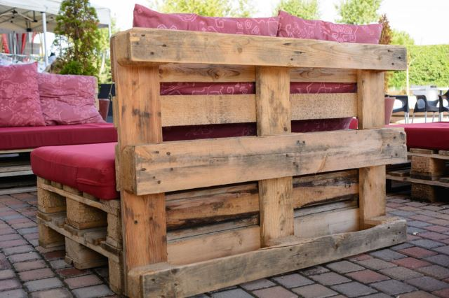 Patio Furniture With Pallets Intended Upcycled Pallet Furniture 33 Diy Pallet Garden And Furniture Ideas